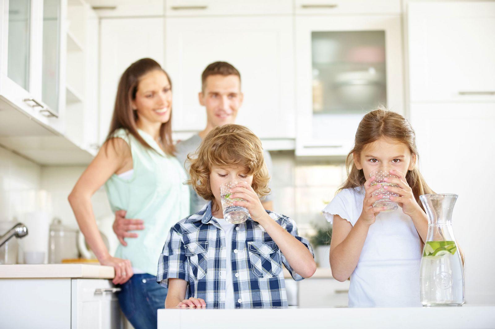 Bạn có biết nước uống gia đình quan trọng như thế nào?
